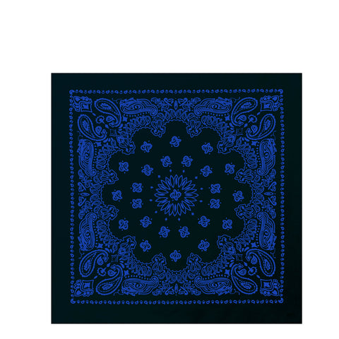 Black / Blue Trainman Bandana