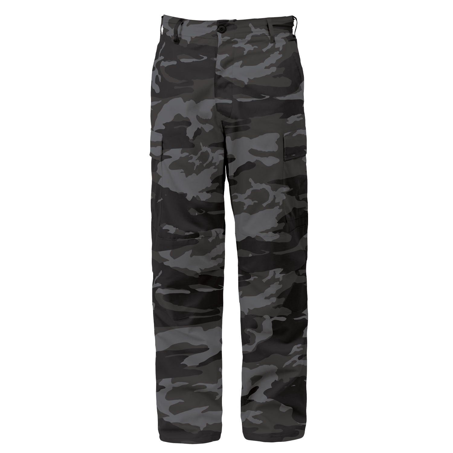 Black Camouflage BDU Pants