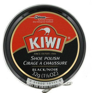 Kiwi Shoe Polish Black 1 1/8 oz.
