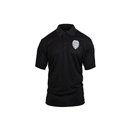 Security Badge Polo White