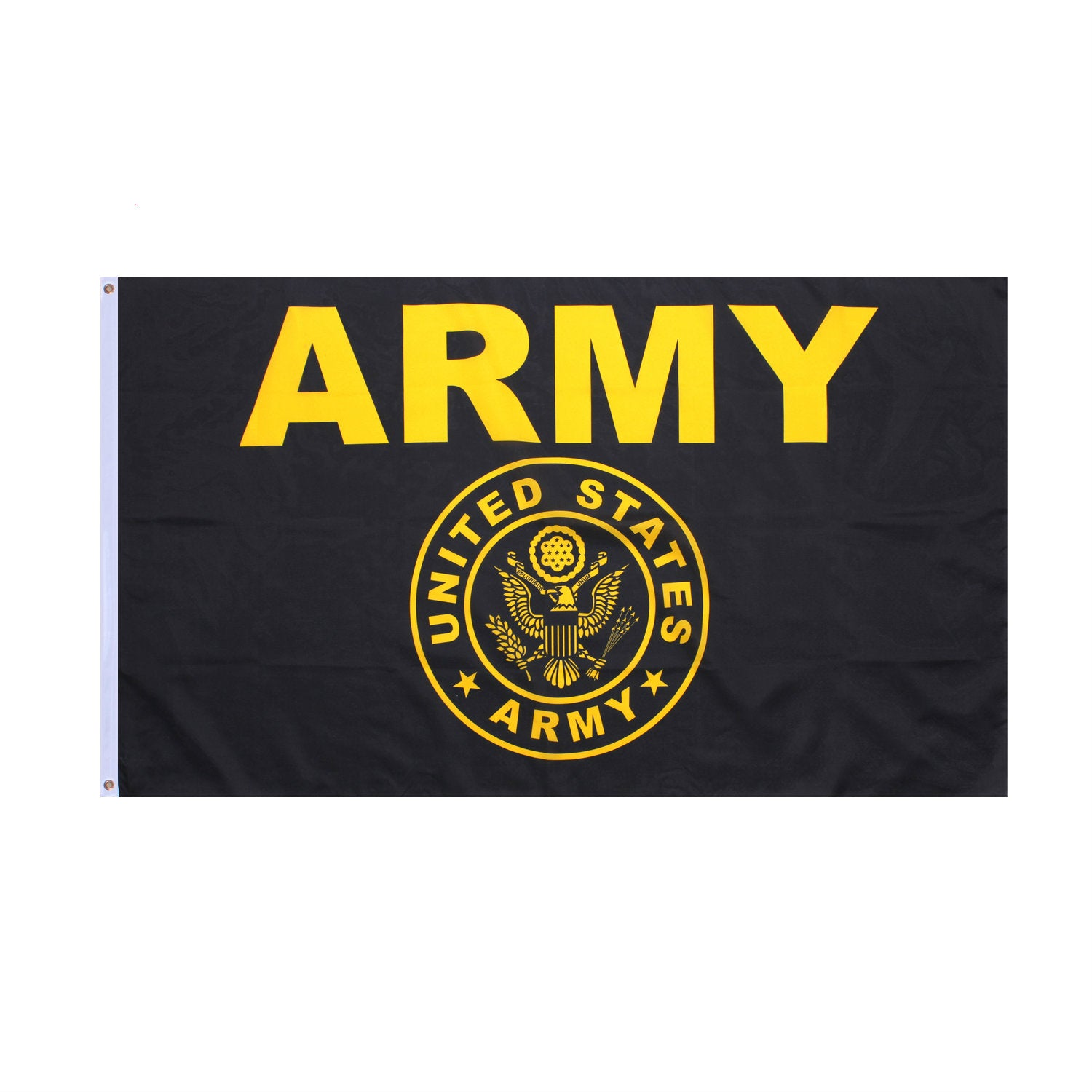 Black / Yellow Army Flag 3' x 5'