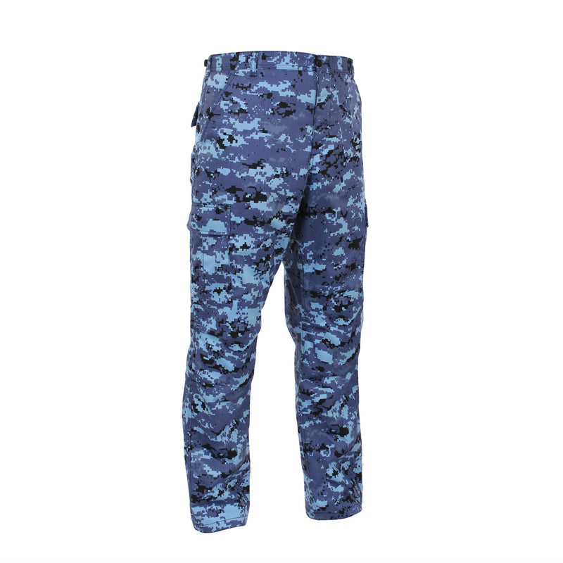 Sky Blue Digital BDU Pants - Indy Army Navy