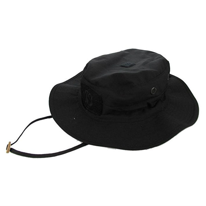 Tru Spec Black Contractor Rip Stop Boonie Hat