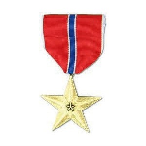 Bronze Star Medal Anodized