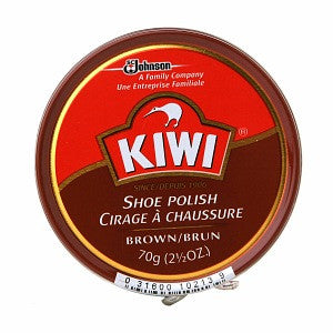 Kiwi Shoe Polish Brown 2.5 oz.