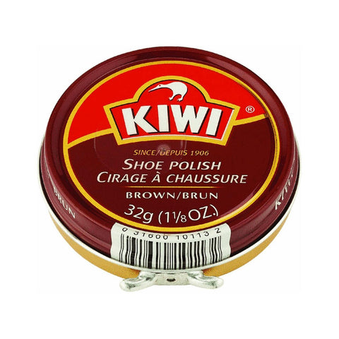 Kiwi Shoe Polish Brown 1 1/8 oz.