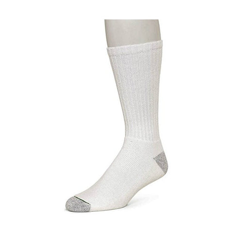 Burlington Comfort Power Crew Sock White Size 6-12