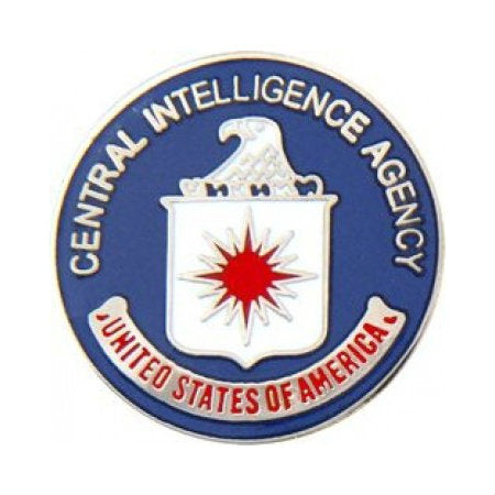 Central Intelligence Agency CIA Hat Pin (1 Inch)