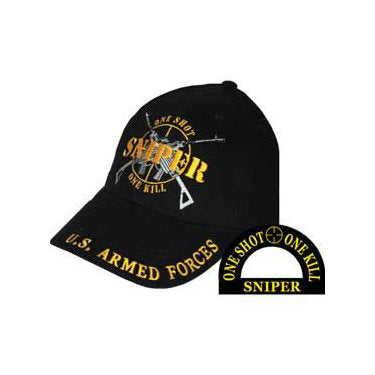 One Shot, One Kill Sniper Hat - Indy Army Navy