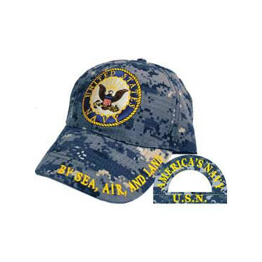 Navy Logo Hat Blue Digital - Indy Army Navy