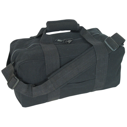 "Canvas Gear Bag Black 9""x18"""