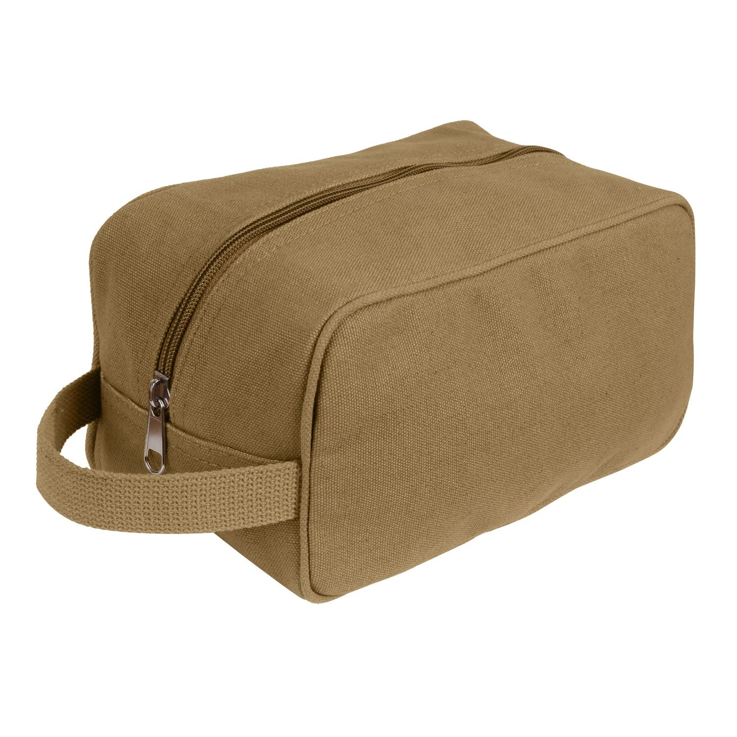 Canvas Toiletry Travel Kit Coyote