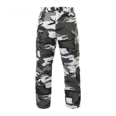 Vintage Paratrooper Fatigue Pants City Camoflage