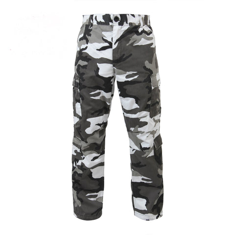 Vintage Paratrooper Fatigue Pants City Camo