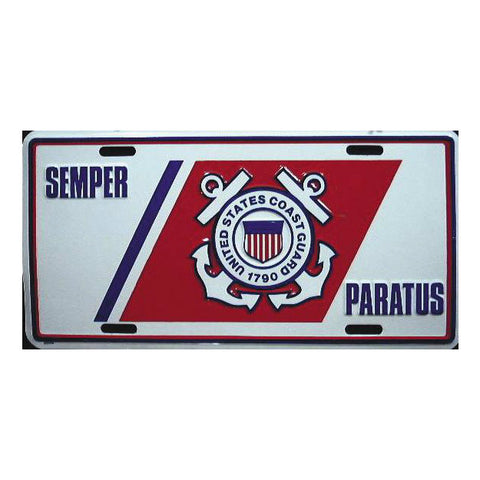Coast Guard License Plate