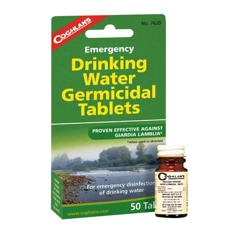 Coghlan's Drinking Water Tablets - 50 Tablets
