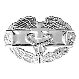 "Combat Medical Badge Hat Pin (1 1/4"")"