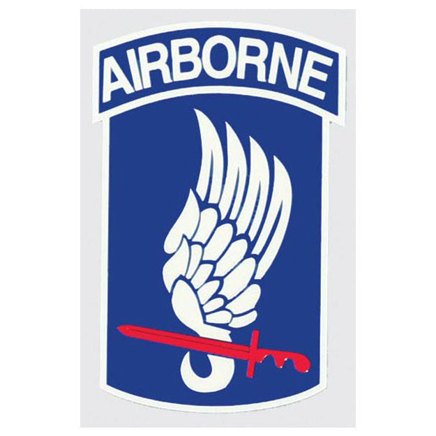 173rd Airborne Decal - Indy Army Navy
