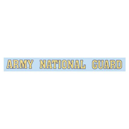 Army National Guard Window Strip Decal