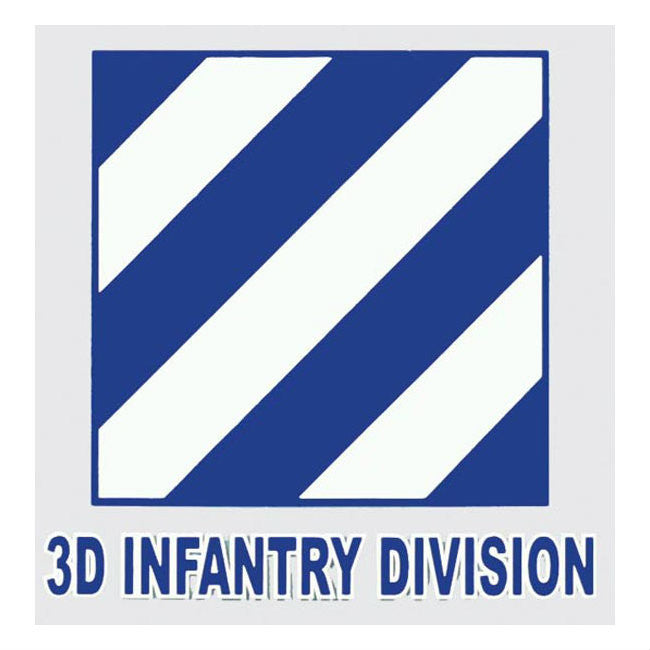 3rd Infantry Division Decal - Indy Army Navy