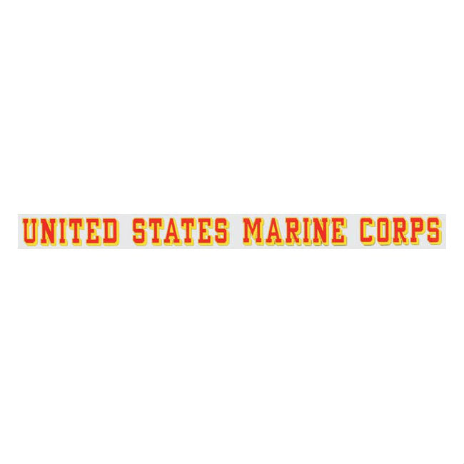 United States Marine Corps Window Strip Decal