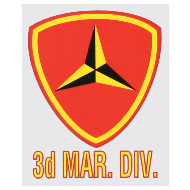 3rd Marine Division Decal - Indy Army Navy
