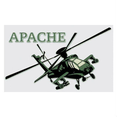 Apache Helicopter Decal