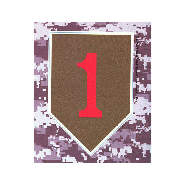 ACU 1st Infantry Division Decal