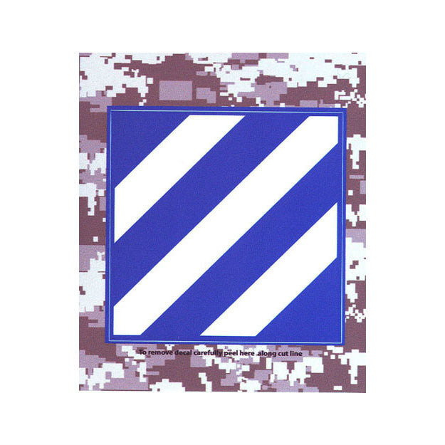 ACU 3rd Infantry Division Decal
