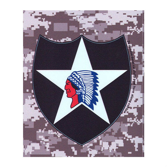 ACU 2nd Infantry Decal