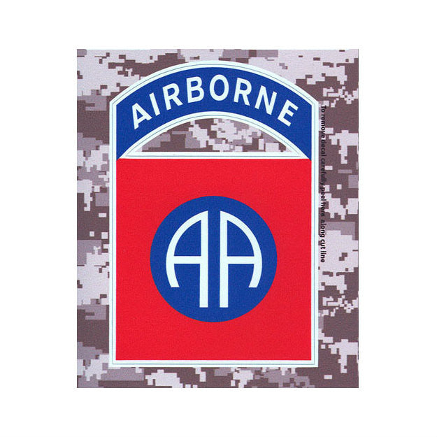 ACU 82nd Airborne Division Decal