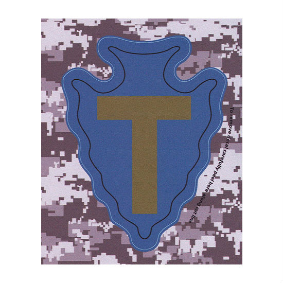 "ACU 36th Brigade ""T"" Decal"