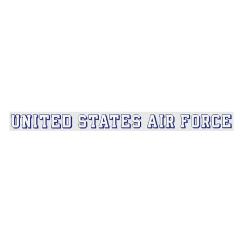 United States Air Force Window Strip Decal