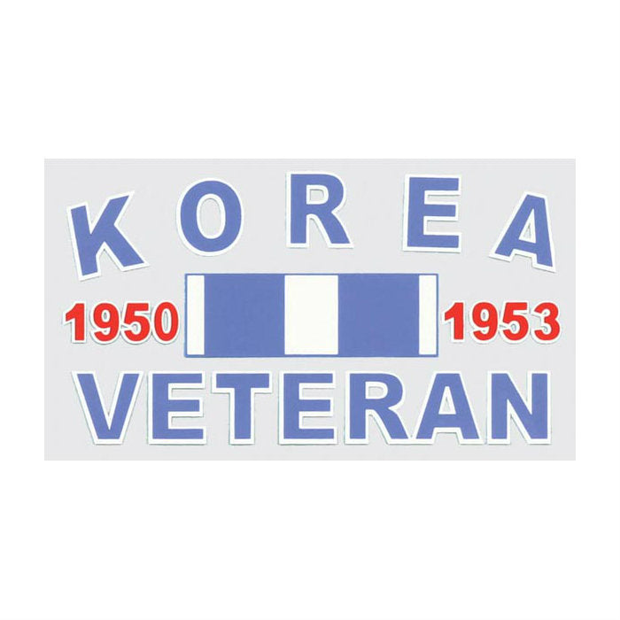 Korea Veteran Ribbon Decal
