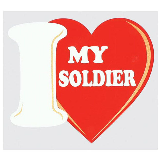 I (Heart) My Soldier Decal