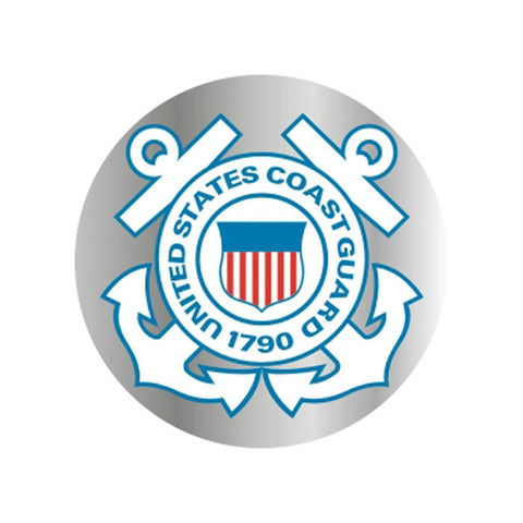 Coast Guard Prism Decal (3 Inch)