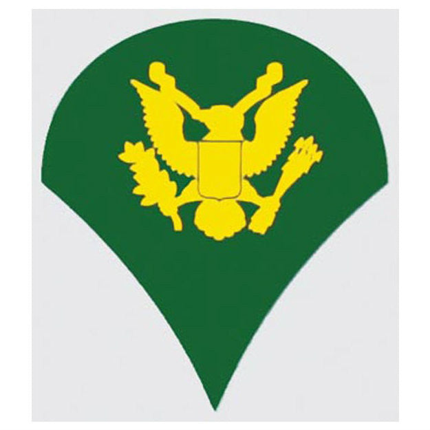 Army E-4 Specialist Rank Decal