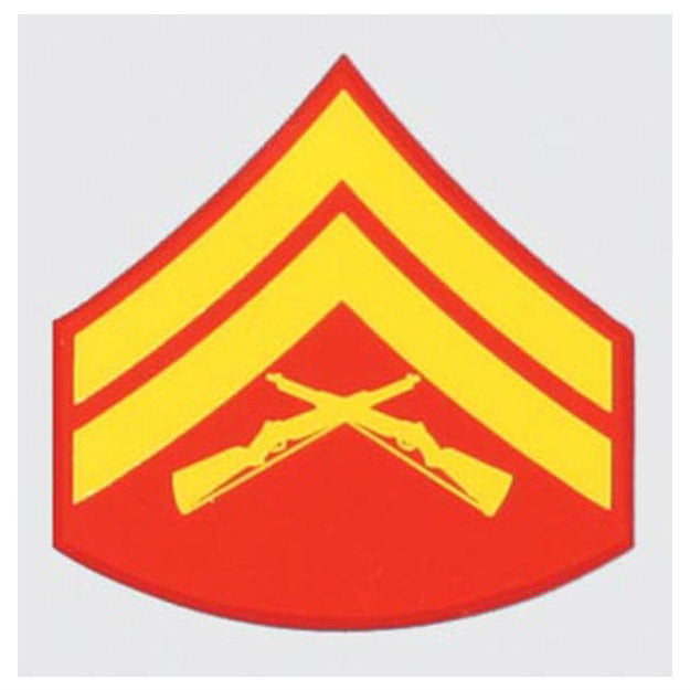 Marine E-4 Corporal Rank Decal