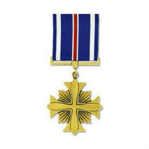 Distinguished Flying Cross Medal Anodized