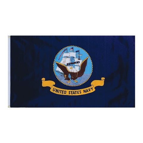 Embroidered Navy Original Flag 3' x 5'