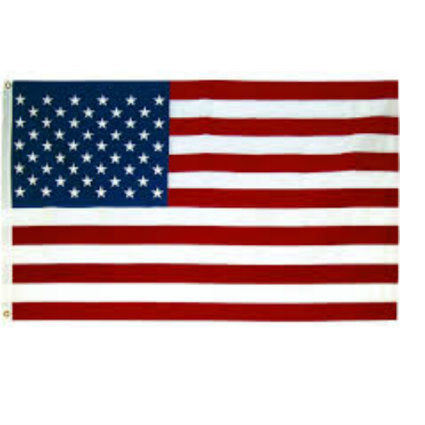 Embroidered US Flag 3' x 5'