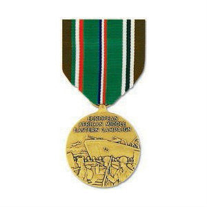 WWII European - African - Middle Eastern Campaign Medal Anodized