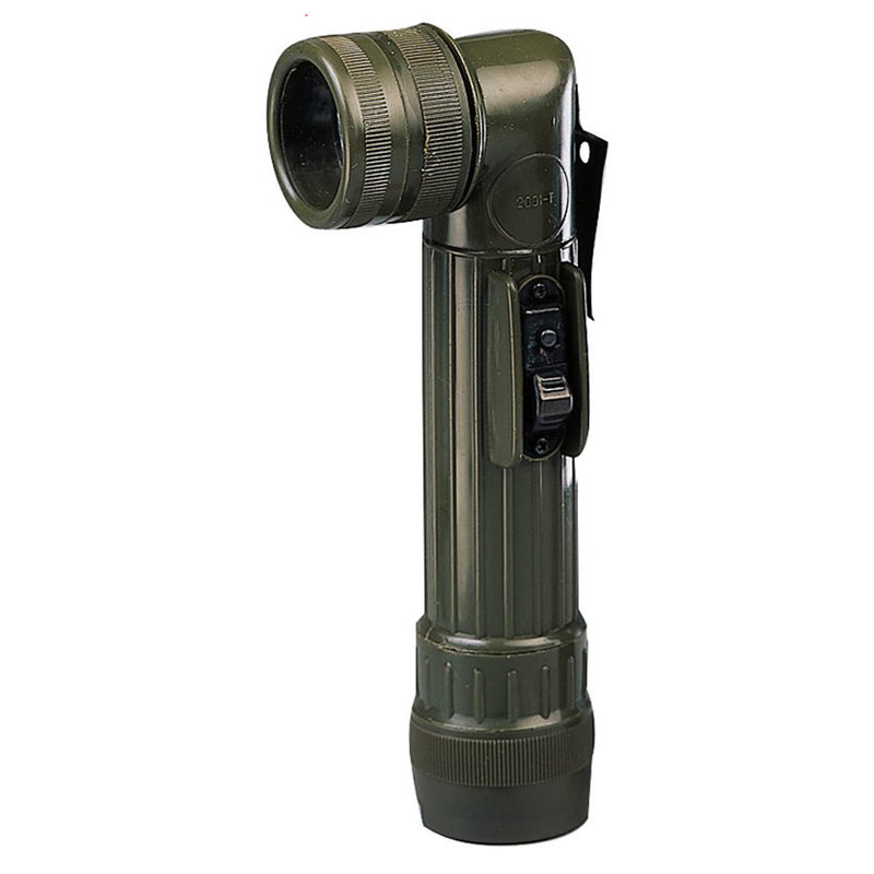 GI Type C Cell Angle Head Flashlight