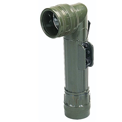 GI Type D Cell Angle Head Flashlight