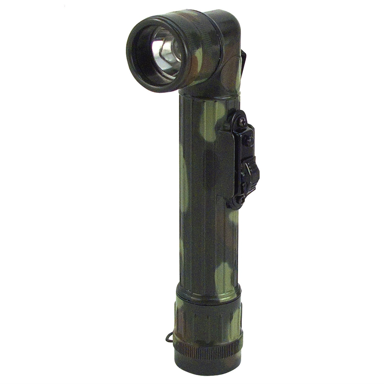 GI Type Mini AA Cell Angle Head Flashlight