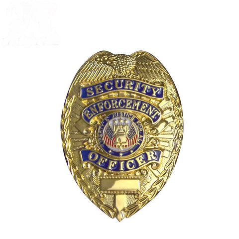 Security Enforcement Officer Badge Gold