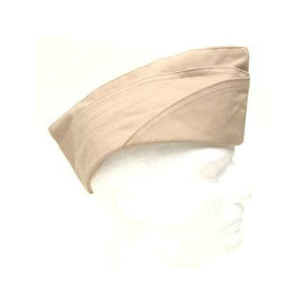 Overseas Garrison Hat Khaki Reproduction M1950