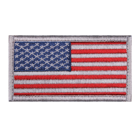 Hook & Loop American Flag Vintage Subdued
