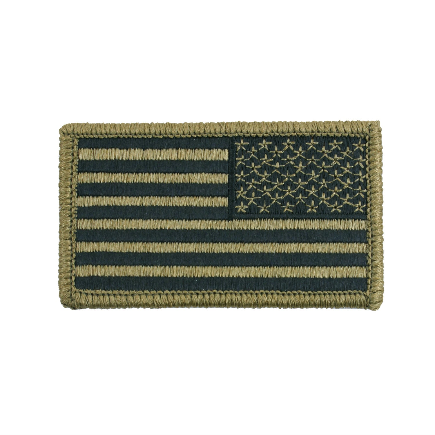 Hook & Loop Reverse American Flag OCP