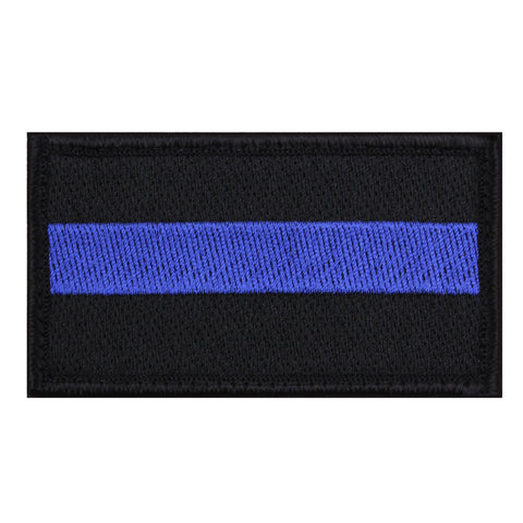 Hook & Loop Thin Blue Line Black / Blue